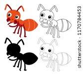 worksheet vector design for kid | Shutterstock .eps vector #1170784453