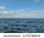 seascape sea with calm water... | Shutterstock . vector #1170788416