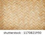 Woven Bamboo Texture Surface...