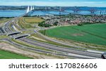 Aerial Image Of Traffic On The...