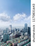 seoul cityscapes  skyline  high ... | Shutterstock . vector #1170831643