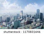 seoul cityscapes  skyline  high ... | Shutterstock . vector #1170831646