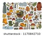 autumn set elements 2 | Shutterstock .eps vector #1170842710