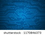 abstract technology background  ... | Shutterstock .eps vector #1170846373