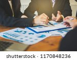 close up of business people... | Shutterstock . vector #1170848236