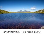 lake in norway mountains.... | Shutterstock . vector #1170861190