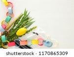 jewish festival of sukkot....   Shutterstock . vector #1170865309