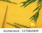 jewish festival of sukkot.... | Shutterstock . vector #1170865849