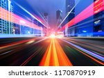 abstract image of blur motion... | Shutterstock . vector #1170870919