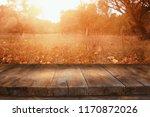 image of front rustic wood... | Shutterstock . vector #1170872026