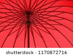 close up of inner part of red... | Shutterstock . vector #1170872716