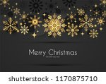 elegant christmas background... | Shutterstock .eps vector #1170875710