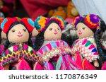 mexican rag dolls | Shutterstock . vector #1170876349