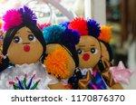 mexican rag dolls | Shutterstock . vector #1170876370