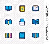 vector illustration of 9 read...   Shutterstock .eps vector #1170878293