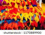 mexican traditional textiles | Shutterstock . vector #1170889900