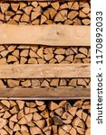 firewood for sale. packages... | Shutterstock . vector #1170892033