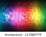 abstract spirals background   Shutterstock .eps vector #117089779
