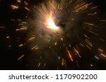 a firework   fire cracker... | Shutterstock . vector #1170902200