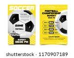 Soccer Poster Design Vector....