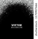 sparkling glitter border  frame.... | Shutterstock .eps vector #1170907666