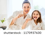 happy family  mother and... | Shutterstock . vector #1170937630
