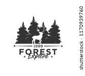 camping concept logo desig... | Shutterstock .eps vector #1170939760