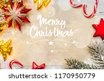 christmas background with light | Shutterstock . vector #1170950779
