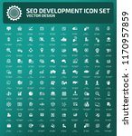 search engine optimisation... | Shutterstock .eps vector #1170957859
