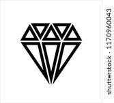 diamond icon  diamond cut... | Shutterstock .eps vector #1170960043