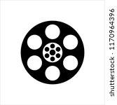 film reel icon  cinema movie...   Shutterstock .eps vector #1170964396