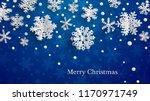 christmas illustration with... | Shutterstock .eps vector #1170971749