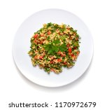 tabbouleh salad with burghul or ... | Shutterstock . vector #1170972679