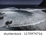 sea background. aerial view of... | Shutterstock . vector #1170974716