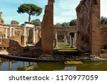 the ruins of an ancient city.... | Shutterstock . vector #1170977059