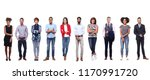 group of people | Shutterstock . vector #1170991720