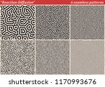 set of diffusion reaction... | Shutterstock .eps vector #1170993676