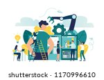 vector illustration  a... | Shutterstock .eps vector #1170996610