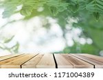 view wood floors and natural... | Shutterstock . vector #1171004389
