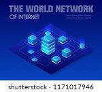 isometric illustration of... | Shutterstock .eps vector #1171017946