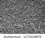 black and white gravel texture... | Shutterstock . vector #1171018870