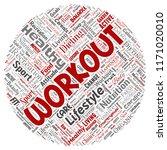 vector conceptual healthy... | Shutterstock .eps vector #1171020010