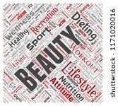 vector conceptual healthy... | Shutterstock .eps vector #1171020016