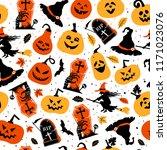 halloween color festive...   Shutterstock .eps vector #1171023076