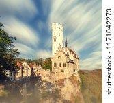 schloss lichtenstein castle... | Shutterstock . vector #1171042273