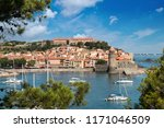 view on the bay and tower of... | Shutterstock . vector #1171046509