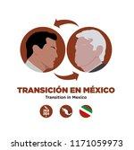 presidential transition in... | Shutterstock .eps vector #1171059973