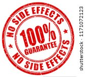 no side effects 100 guarantee... | Shutterstock .eps vector #1171072123