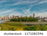 nyc midtown skyline with lots... | Shutterstock . vector #1171082596
