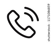 phone call icon vector...